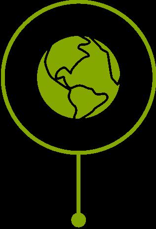 Milesstone Globe